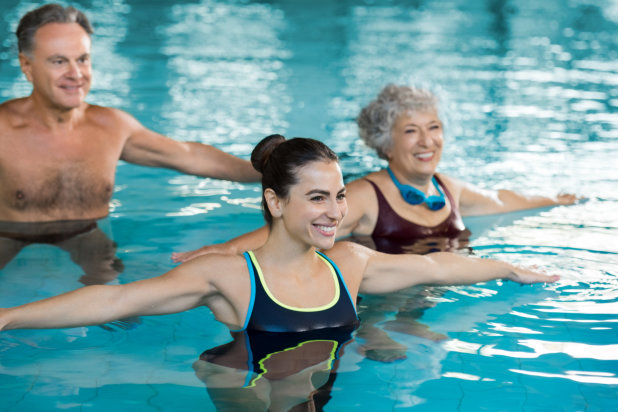 Fun Water Exercises for Our Senior Loved Ones